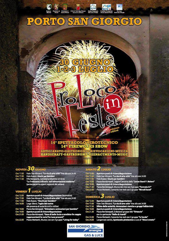 Programma PROLOCO-IN-FESTA-2016 - Residence Acquachiara - Fermo